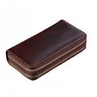 Мужской кожаный клатч GMD 8026C Коричневый8026C, КОД: 1086138