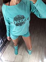Жіноча флісова піжамка з тапочками .Р-ри 42-46, фото 1