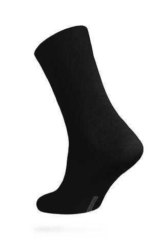 Носки мужские большой размер классические черные CLASSIC DIWARI набор 5 пар 5С-08СП