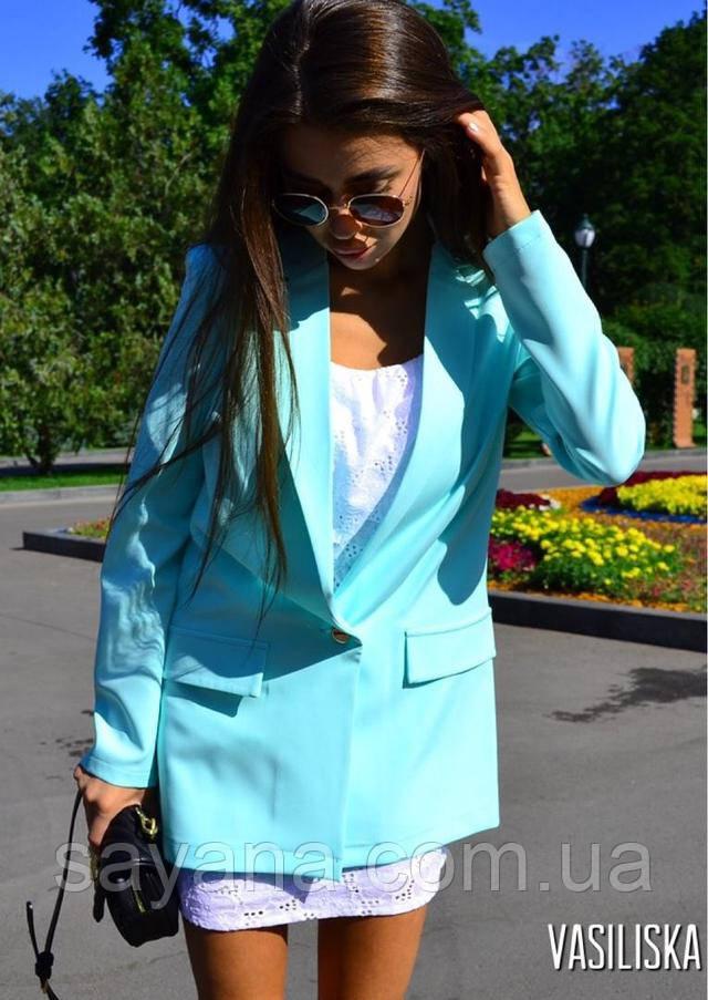 женский пиджак на одну пуговицу