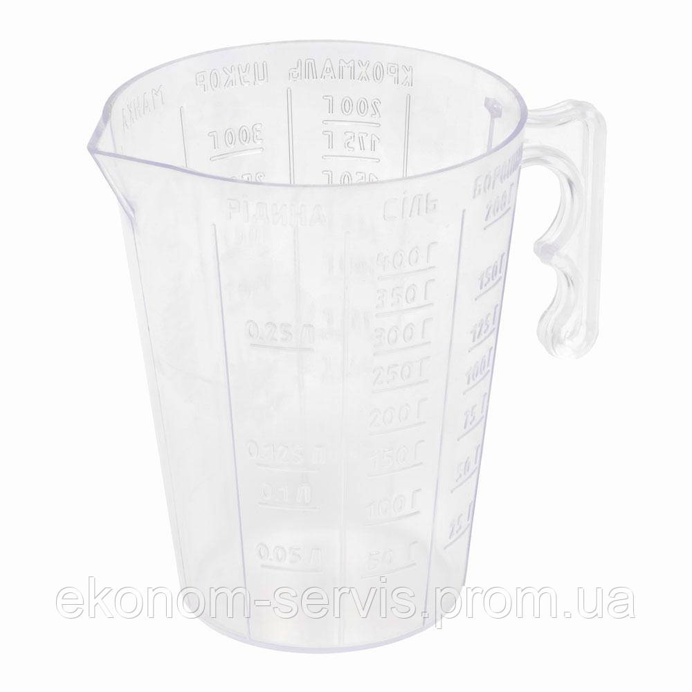 Стакан мерный для пищевых продуктов 0,3кг/0,3л
