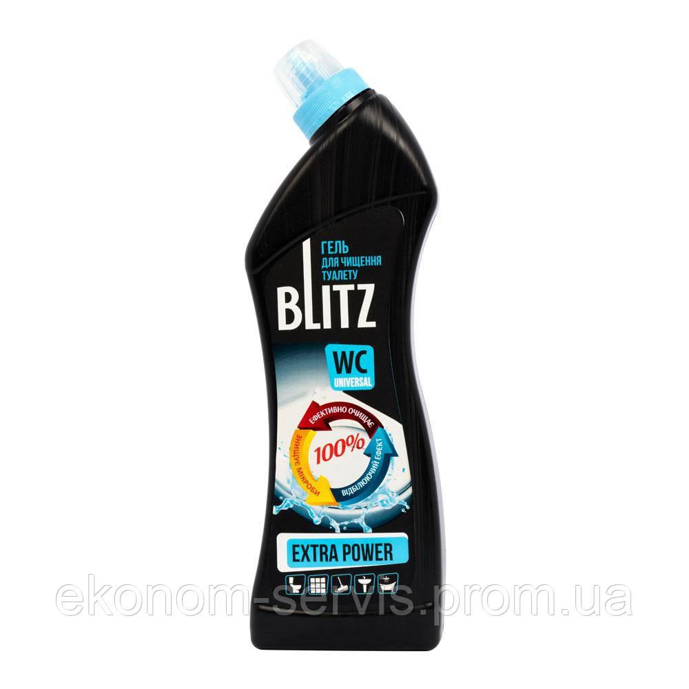 Гель для чистки унитазов BLITZ Extra Power, 750мл