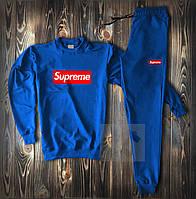 Спортивный костюм мужской в стиле Supreme blue | весенний осенний