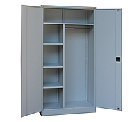 Шкаф гардеробный офисный ШКГ-10 ог, Н1970х1000х455 мм