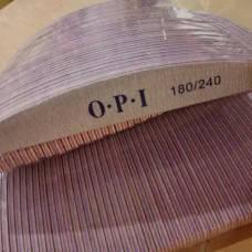 Пилочка для ногтей 50шт 180/240 OPI лодочка, фото 2