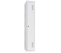 Шкаф одежный металлический ШОМ-300/1, 1800х300х500 мм, 1 секция, фото 1