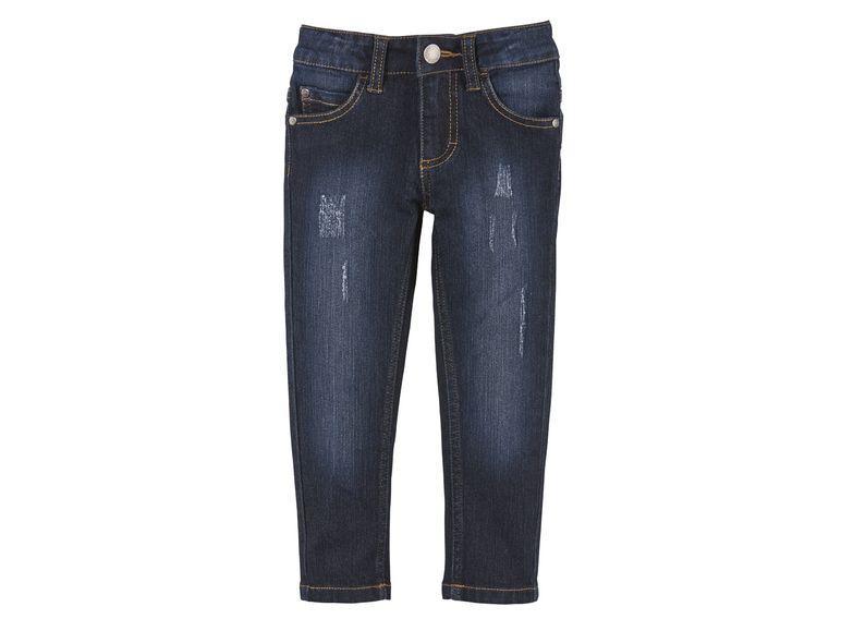 Стрейчеві джинси сині для хлопчика Lupilu р. 86см