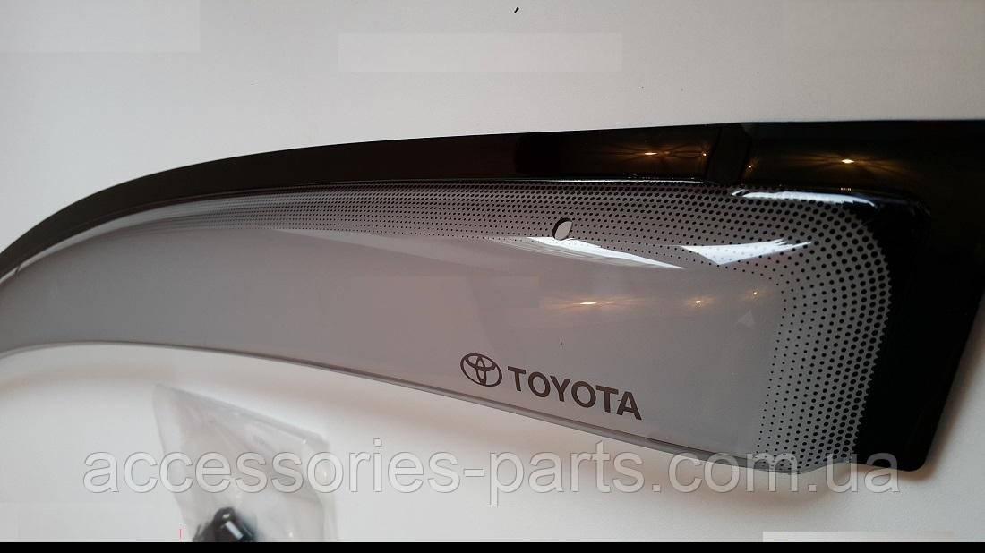 Дефлекторы ветровики на боковые окна Toyota Rav4 2015+ Новые Оригинальные