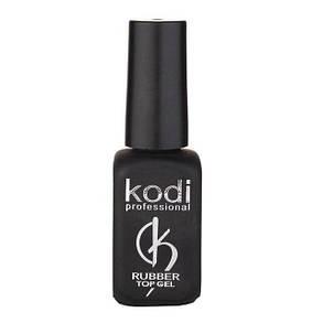 Топ Kodi Rubber Top (Каучуковое верхнее покрытие для гель лака) 12мл., фото 2