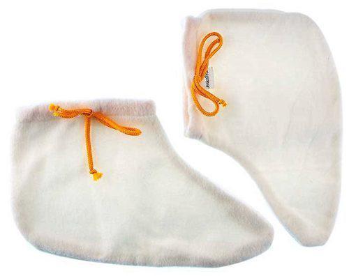 Носочки махра-флис белые