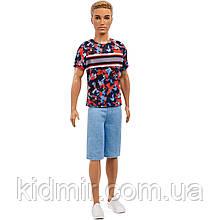 Кукла Барби Кен Модник в джинсовых шортах Barbie Fashionistas Ken
