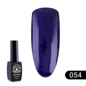 Гель лак Global Fashion BLACK ELITE (8 мл) 054