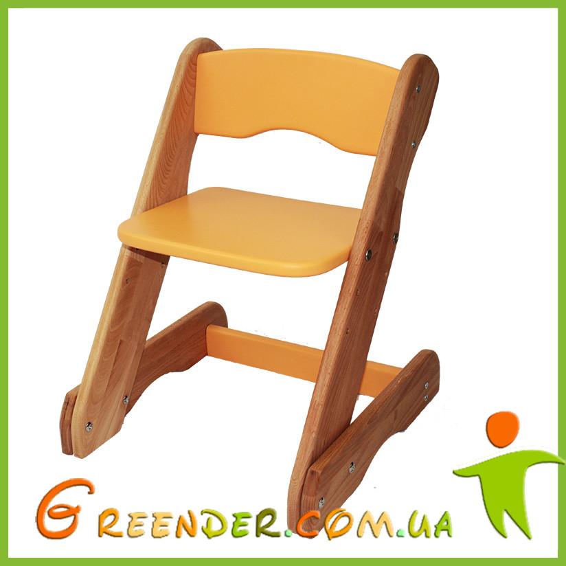 Детский стульчик оранжевый от производителя! (с регулировкой)