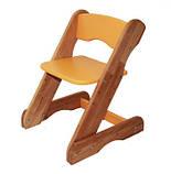 Детский стульчик оранжевый от производителя! (с регулировкой), фото 2