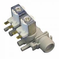 Клапан заливной (залива) для стиральной машины 2-ух ходовой Indesit, Ariston