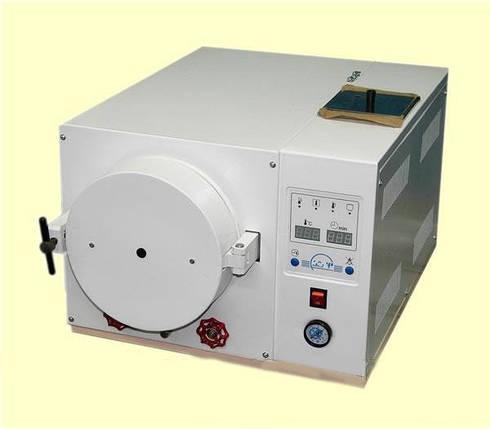 Стерилизатор паровой ГК-20 (вакуумная сушка) 20 л, фото 2