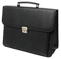 Портфель деловой из кожзаменителя Exclusive Черный 720100, КОД: 955959
