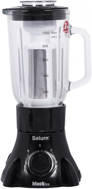 Стационарный блендер Saturn ST-FP9087 300 Вт практичный кухонный блендер черный