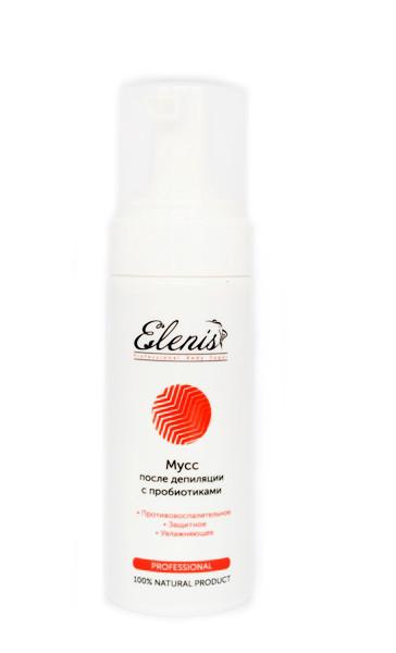 Мусс c пробиотиками после депиляции Elenis 150 мл