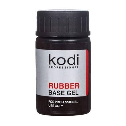 Kodi Professional, Rubber Base Gel - каучуковое базовое покрытие 14ml, фото 2