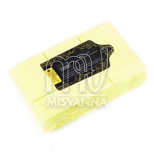 Безворсовые салфетки Starlet Professional 6х4см, 800 шт плотные желтые
