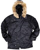 Куртка Alpha N-3B Parka - Black