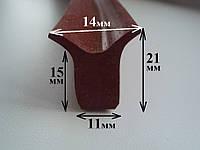 Уплотнитель силиконовый термостойкий Ровно, фото 1