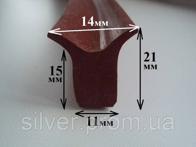 Уплотнитель силиконовый термостойкий Ровно