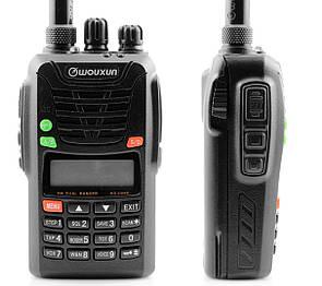 Радиостанция Wouxun KG-UV6D 400-470 / 136-174 Мгц. Переносная рация. Портативна рація 5 Вт.