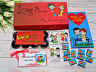 Подарочный набор для влюбленных Лав Из Love is...