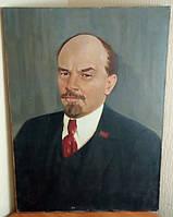Картина ссср Ленин  Худ. И. Лось 1978г.