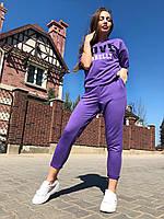 Жіночий спортивний костюм з написами .Р-ри 42-46, фото 1