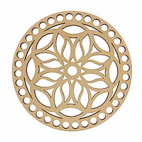 Круглое донышко для вязанных корзин Shasheltoys (100123.12) 12 см