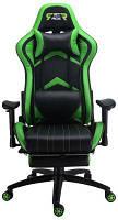 Кресла Офисные Геймерское кресло GT Racer X-2534-F Black/Green