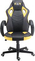 Кресла Офисные Геймерское кресло GT Racer X-2752 Black/Yellow