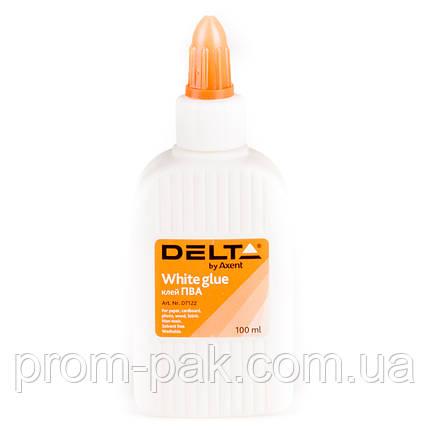Клей пва 100 мл Delta, фото 2