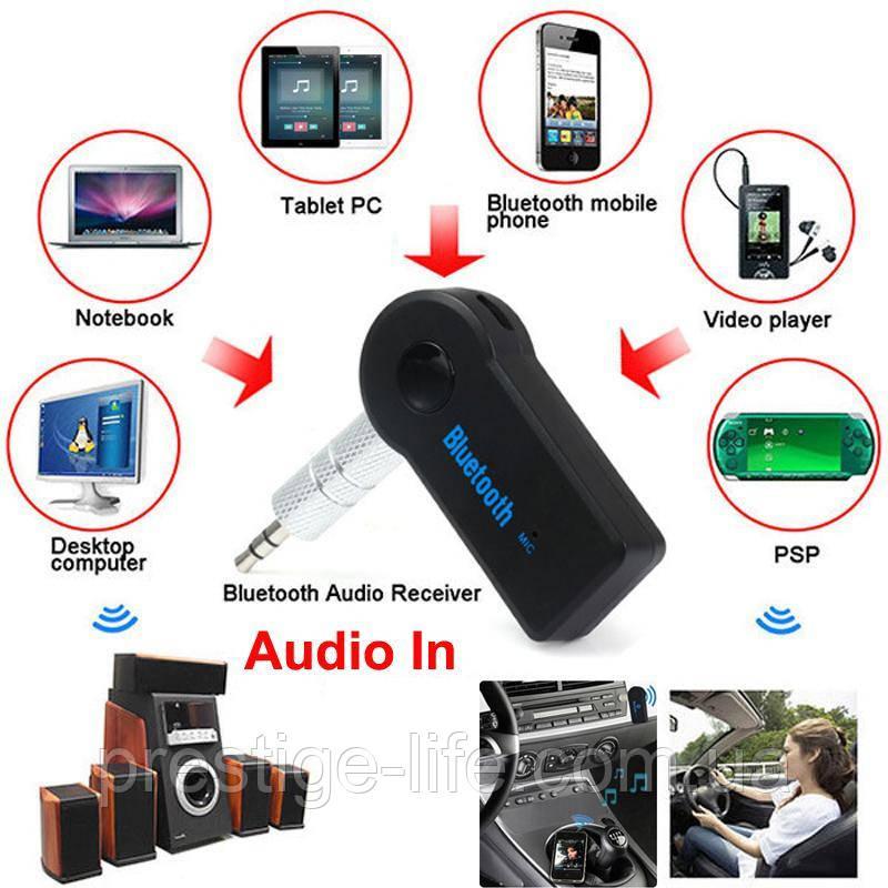 AUX Bluetooth ресивер, адаптер BT350