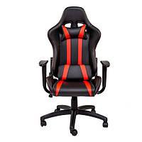 """Компьютерное кресло для геймера """"Zeus Zebra"""" черно-красный"""