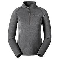 Кофта Eddie Bauer Womens High Route Fleece Pullover DK SMOKE XS Темно-серая 5830DKS-XS, КОД: 270422