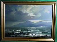 Картина море маслом 1994г.