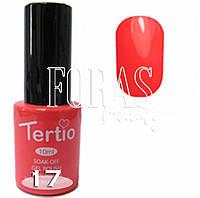 Гель-лак Tertio №017, 10ml