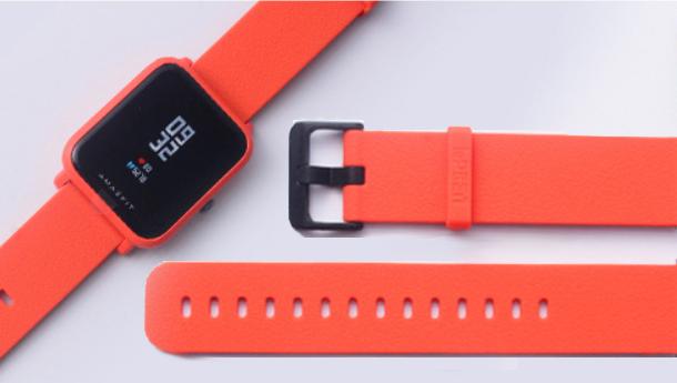 Ремешок  LOPBEN для смарт-часов Xiaomi AMAZFIT Bip / 20 мм Orange (Оранжевый)