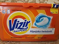 Гелевые капсулы Vizir альпы Freshness 41шт визир альпы