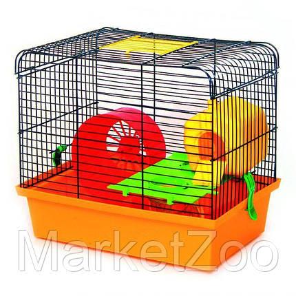 Клетка для хомяка Хомяк 1 Люкс (330х230х290), фото 2