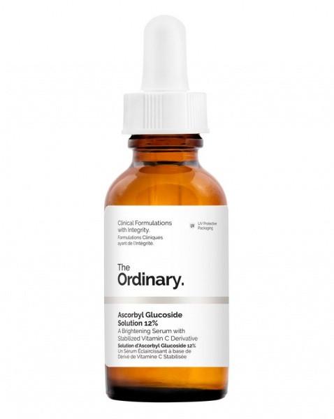 Сыворотка для осветления пигментных пятен The Ordinary Ascorbyl Glucoside Solution 12%