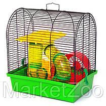 """Клетка для хомяков """"Бунгало 2 люкс"""" Размер - 335х230х365, фото 2"""