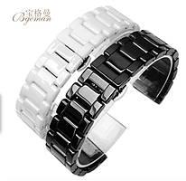 Керамический браслет для часов Xiaomi Amazfit Samsung  S3 S2 Galaxy Huawei 14 мм - 22 мм