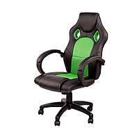 Крісло комп'ютерне Daytona чорно/зелене