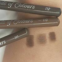 Пудровый карандаш для бровей Cascade of Colours 112, фото 1