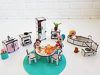 Мебель для Лол, Кухня, Ванная для кукол Лол